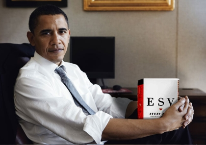 Barack and the ESV: The new world order study bible