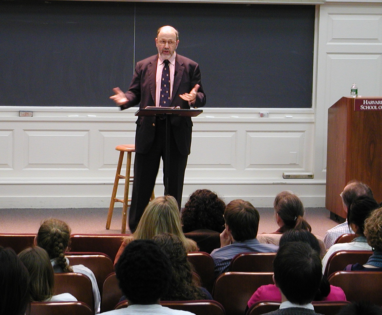 N.T. Wright at Harvard